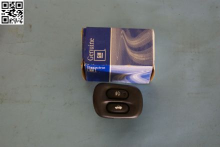 1997-2004 Corvette C5 Interior Fog Lamp Switch, New, Box E
